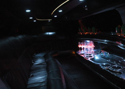 Luxury limo bar