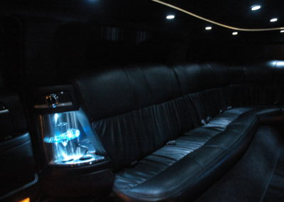 Limousine interior private