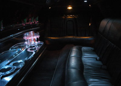 Limousine leather seating