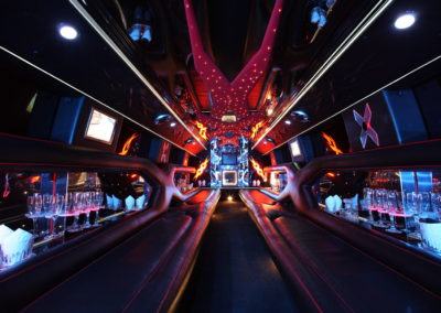Inside Hummer Limo Virginia