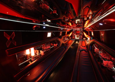 Interior Hummer Limo Maryland