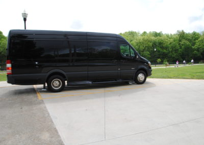Luxury Sprinter Van rental