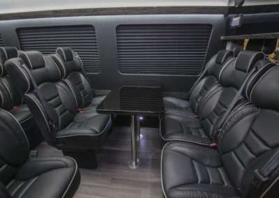 Sprinter Van seating for many executives