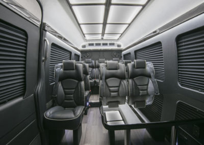 Airport luxury sprinter van shuttle