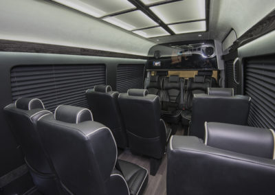 Van interior Mercedes Sprinter