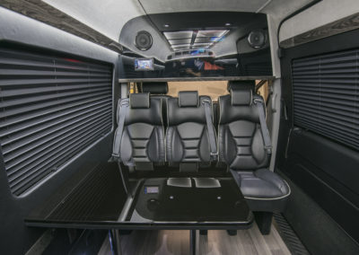 interior luxury sprinter van