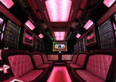 Party Bus Interior Lighting