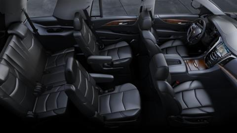 Leather Seating Interior Cadillac SUV
