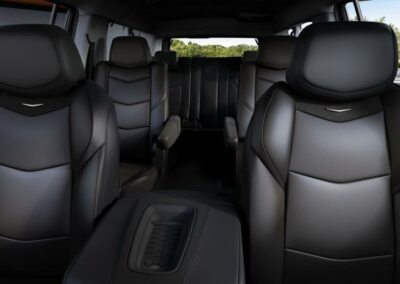 Leather Seating inside Explorer SUV